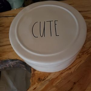 Other - Rae dunn container CUTE